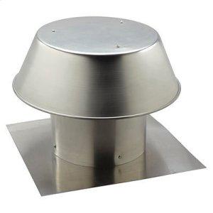 "Broan12"", Roof Cap, For Flat Roof, Aluminum"
