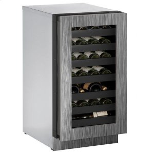 """U-Line18"""" Wine Refrigerator With Integrated Frame Finish and Field Reversible Door Swing (115 V/60 Hz Volts /60 Hz Hz)"""