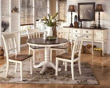 Whitesburg - Brown/Cottage White Dining Room Table