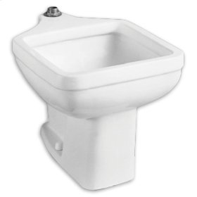Clinic Floor Mounted Service Sink - White