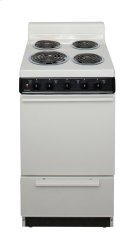 20 in. Freestanding Electric Range in Biscuit Product Image