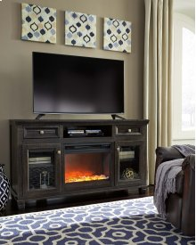 Townser - Grayish Brown 2 Piece Entertainment Set