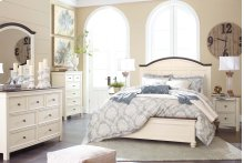 Woodanville - White/Brown 3 Piece Bed Set (Queen)