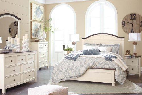 Woodanville - White/Brown 2 Piece Bedroom Set