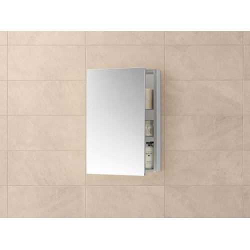Contempo 23 X 30 Metal Frame Medicine Cabinet In Brushed Nickel