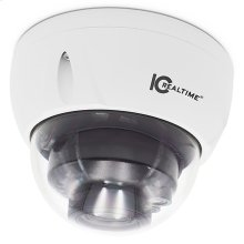 4 MP IP Outdoor Dome Camera White