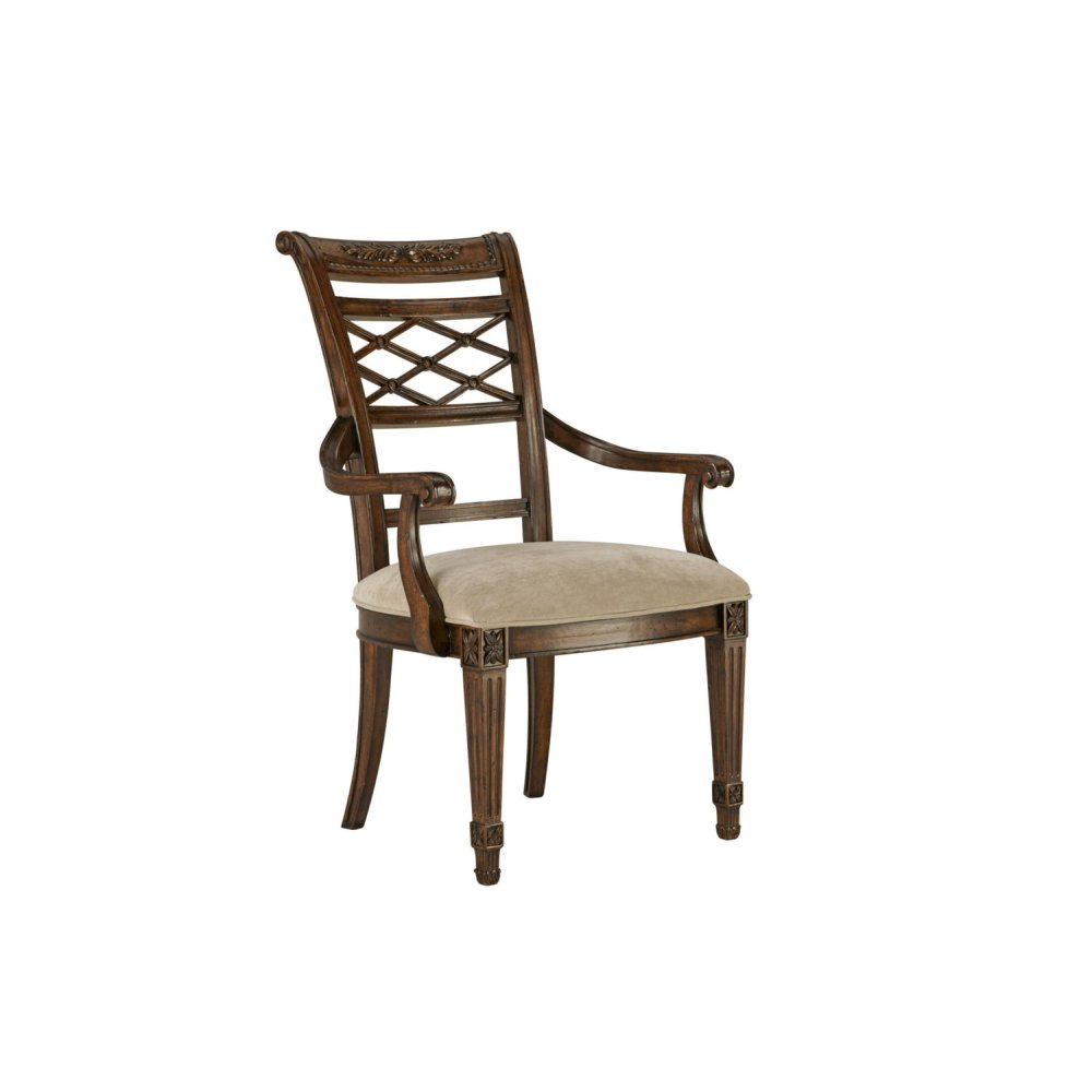 Lattice Arm Dining Chair
