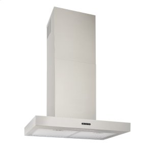 Broan24-In. Convertible Wall Mount T-Style Chimney Range Hood with LED Light in Stainless Steel