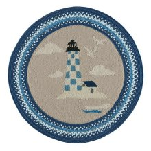 Hyport-Lighthouse Marina Braided Rugs