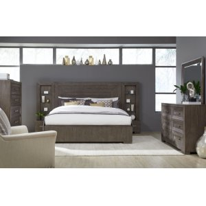 LEGACY CLASSIC FURNITUREFacets Complete Wall Panel Bed, King 6/6