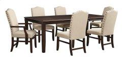 Lavidor - Brown 7 Piece Dining Room Set