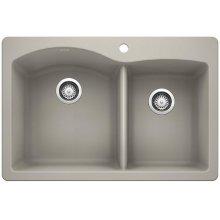 Blanco Diamond 1-3/4 Bowl - Concrete Gray
