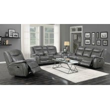 Conrad Transitional Grey Motion Sofa