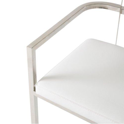 Arm Chair (clear/acrylic Back)