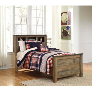 Ashley Furniture Trinell - Brown 3 Piece Bed Set (Twin)