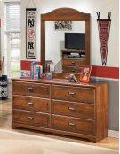 Barchan - Medium Brown 2 Piece Bedroom Set Product Image