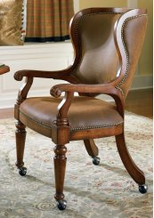 Bar and Game Room Waverly Place Tall Back Castered Game Chair
