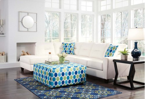 Kirwin Nuvella - White 2 Piece Sectional