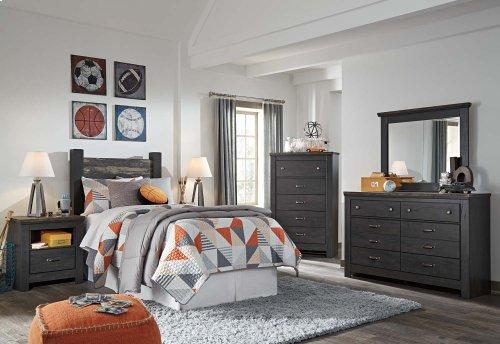 Westinton - Black/Brown 2 Piece Bedroom Set