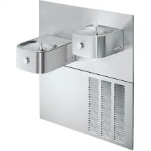 Elkay Soft Sides Fountain Bi-Level Reverse ADA Non-Filtered, 8 GPH Stainless