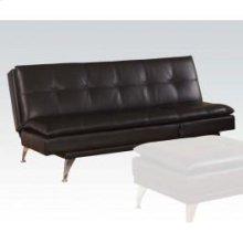 Black Pu Adjustable Sofa