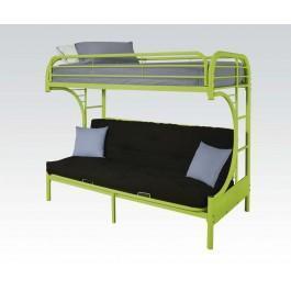 Green T/f Futon Bunkbed