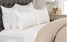 Diamond White Queen Quilt 92x96