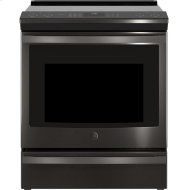 """30"""" Smart Slide-In Front-Control Induction and Convection Range"""