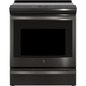 "GE ProfileGE Profile™ 30"" Smart Slide-In Front-Control Induction and Convection Range"