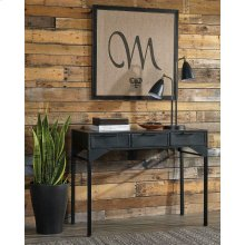 Industrial Black Console Table