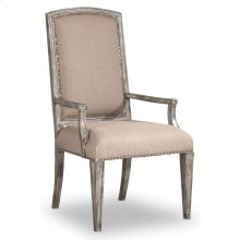 Dining Room True Vintage Upholstered Arm Chair