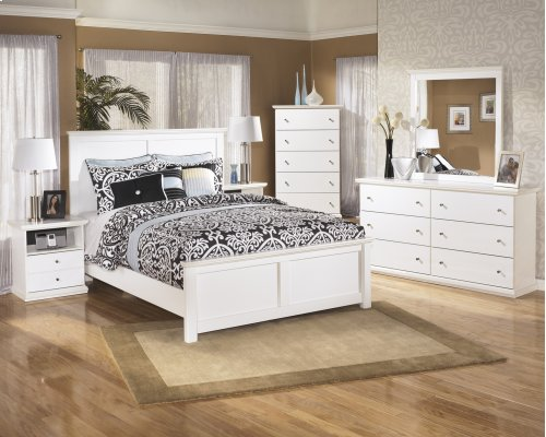 Queen-Size Panel Bed