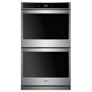 Whirlpool8.6 cu. ft. Smart Double Wall Oven with Touchscreen Stainless Steel