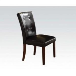 Walnut Side Chair W/esp. Pu