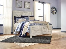 Bellaby - Whitewash 3 Piece Bed Set (Queen)