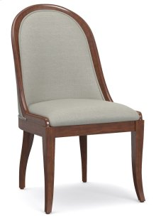 Dining Room Front Row Upholstered Sling Back Chair