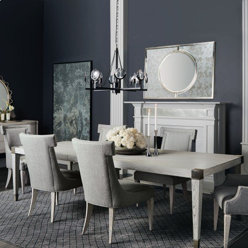 Domaine Blanc Dining Table in Dove White (374)