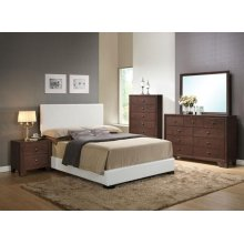 IRELAND WHITE QUEEN BED