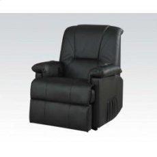 Bk Pu Recliner W/lift,massage Product Image