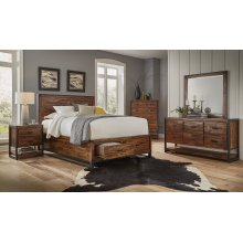 Loftworks Cal King Storage Bed