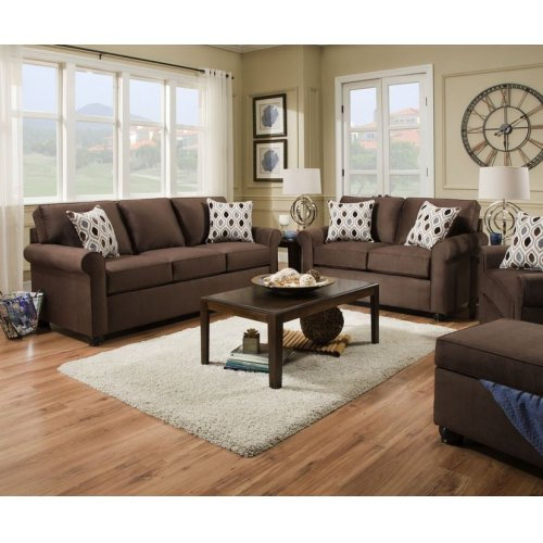 1530 JoJo Sleeper Sofa (Queen Sleeper)- Chocolate