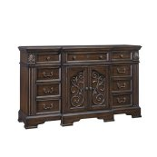 Door Dresser - Coffee Finish