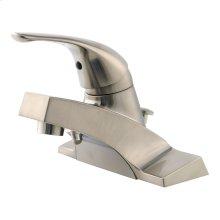 Brushed Nickel Single Control Bathroom Faucet