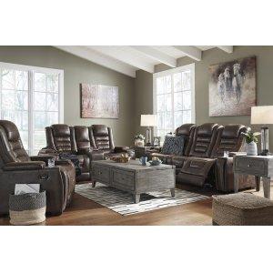 Ashley Furniture Pwr Rec Sofa With Adj Headrest