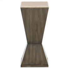 Profile Drink Table in Warm Taupe (378)