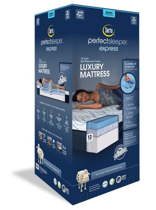 "Perfect Sleeper - Express Luxury Mattress - 12"" - Queen"