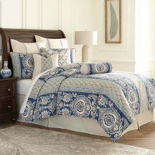 9pc Queen Duvet Set Cadet