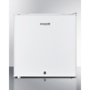 SummitCompact -20 c All-freezer, Manual Defrost With A Factory Installed Lock and 1.4 CU.FT. Capacity