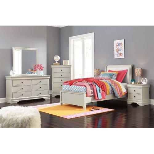 Jorstad - Gray 2 Piece Bed Set (Twin)