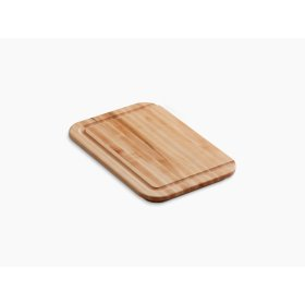 Hardwood Cutting Board, for Undertone, Cadence , Iron/tones, and Toccata Kitchen Sinks